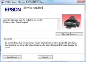 دانلود نرم افزار ریست اپسون L4160
